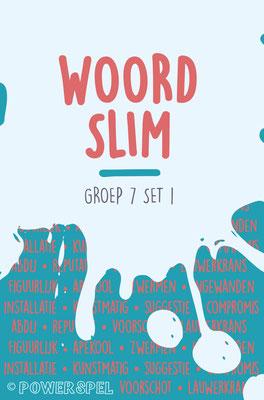 Woordslim groep 7 - Spel om de woordenschat te vergroten