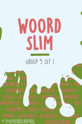 Woordslim groep 5 - Spel om de woordenschat te vergroten