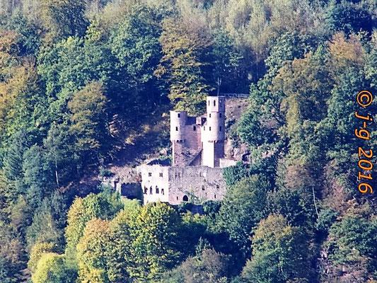 """Burg Schadeck  (""""Schwalbennest"""")"""