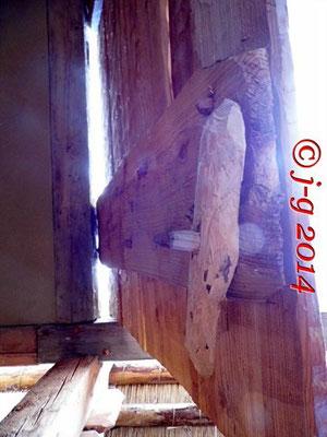 Türschloss aus Holz