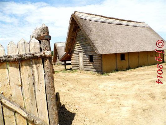 typisches Wohnhaus aus der Karolingerzeit