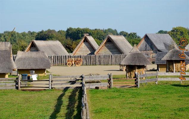 Blick aufs fränkische Dorf