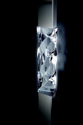 Kristall auf Griff mit möglicher Variante LED