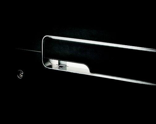 Aussenklappgriff mit LED und Fingerscan