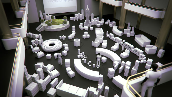 @BRANDS ALIVE | Philips Lighting | Exhibition visualisation