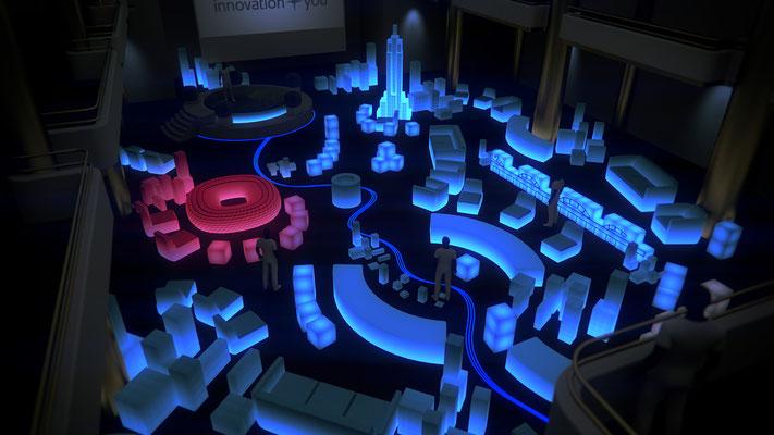 @BRANDS ALIVE   Philips Lighting   Exhibition visualisation