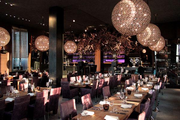 Restaurant MEERBAR                                                                      I                               Foto: A. Kost                               I Planung: Kolbe