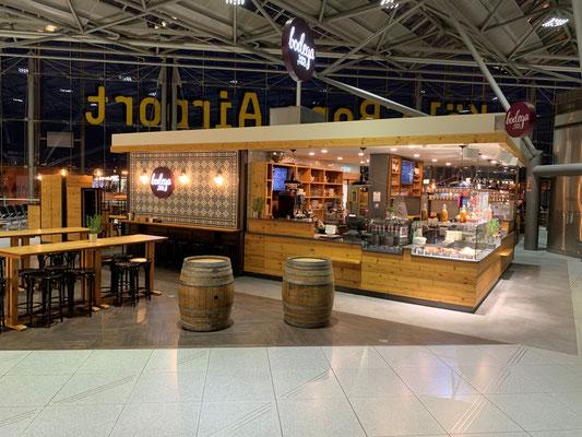 Flughafen Köln-Bonn          I                Bodega Bar                              I       Zusammenarbeit: Scholz & Ko