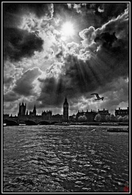 Big Ben et la Tamise, Londres, Royaume-Uni (2012)