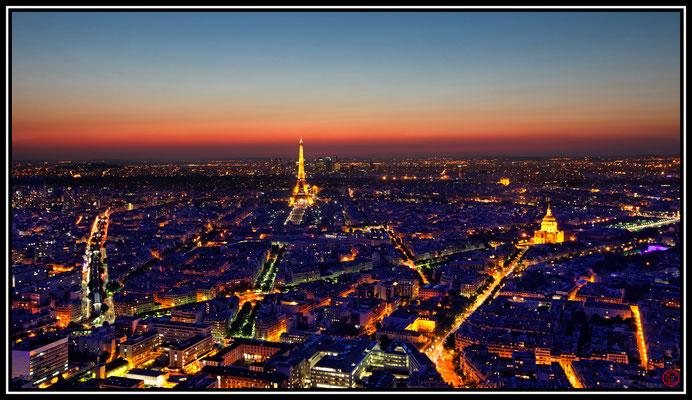 Vue depuis la Tour Montparnasse, Paris, France (2012)