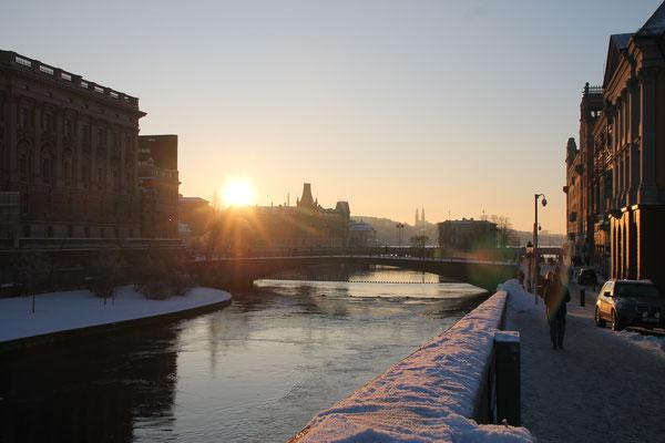 Stockholm im Winterkleid