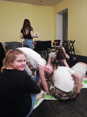 Schüler beim Spiel