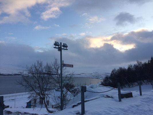 Landschaft in Akureyri