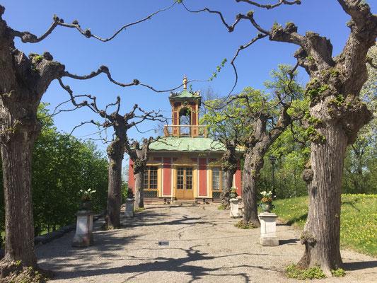 Im Schlosspark von Schloss Drottningholm