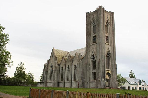 Der katholische Dom in Reykjavik