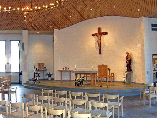 Die Kirche der Birgittaschwestern in Vadstena.