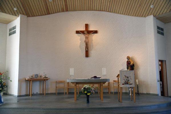 Die Klosterkirche der Birgittinnen.