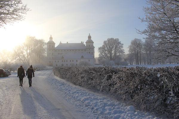 Skokloster Schloss im Winterkleid