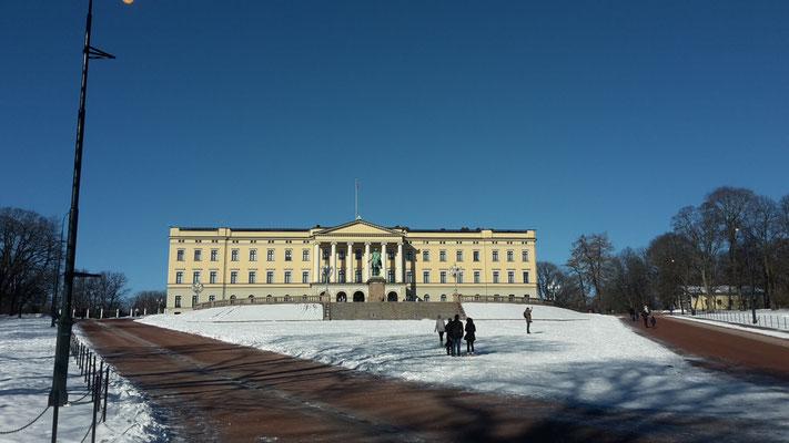 Das Schloss in Oslos.