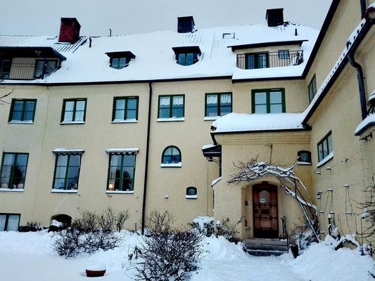 Das Gästehaus in Vadstena