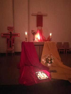 Taize-Gebet in St. Lars