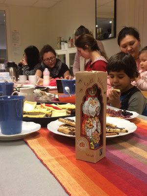 Nikolaustag beim Caritas 'Mötesplats'