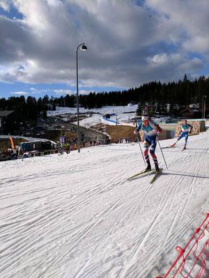 Tarjei Bø beim Skilanglauf