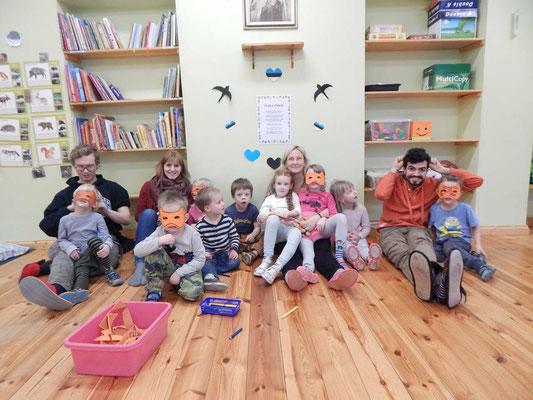 Im Kindergarten in Tartu