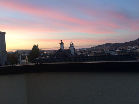 Blick vom klostereigenen Dachbalkon