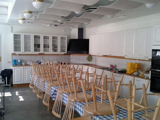 Die Küche im Newman Institut