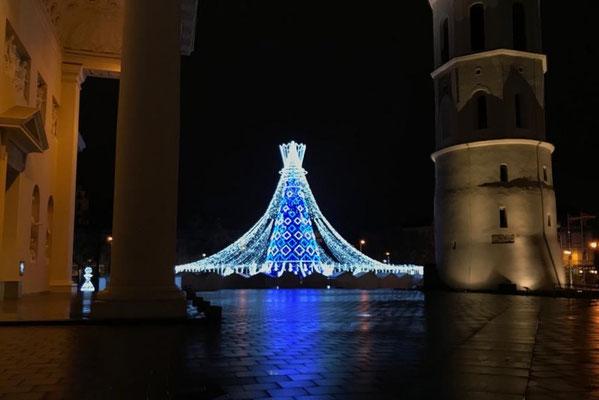 Weihnachtsmarkt in Vilnius
