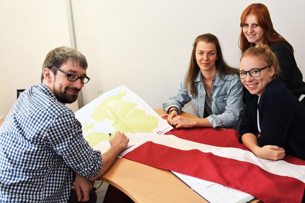 Planungen in der Lettland-Gruppe