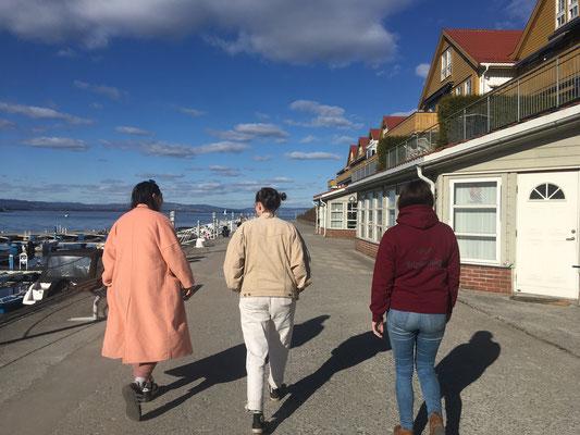 Spaziergang am Oslofjord