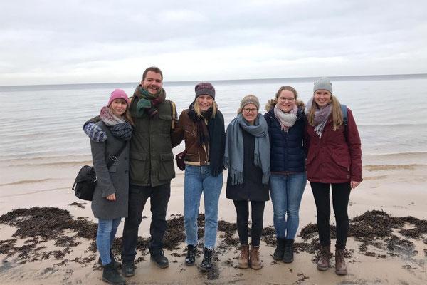 Strandausflug mit den Schwedinnen nach Jurmala