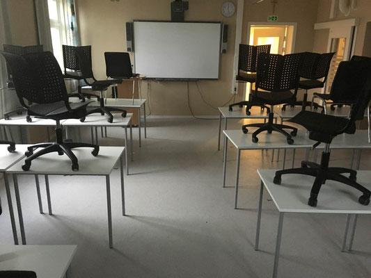 Typischer Klassenraum St Paul Gymnas