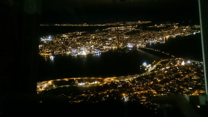 Tromsö bei Nacht