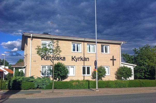Kath. Kirche in Värnamo.