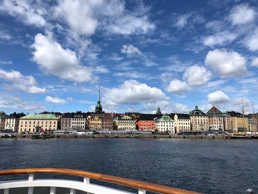 Blick auf die Stockholmer Altstadt