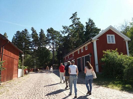 Ausflug im Sommer nach Gamla Linköping