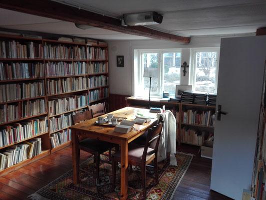 Die Bibliothek des Klosters