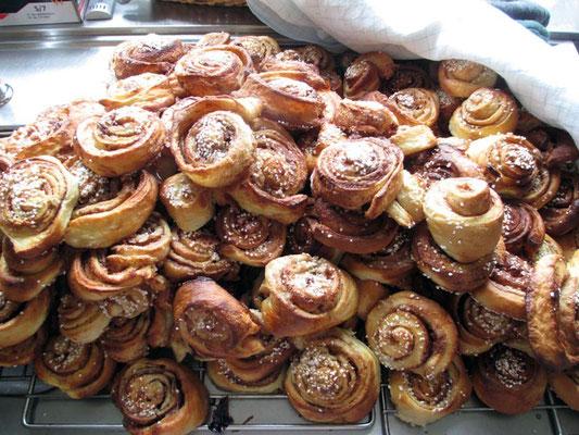 Typisch für Schweden: Zimtschnecken.