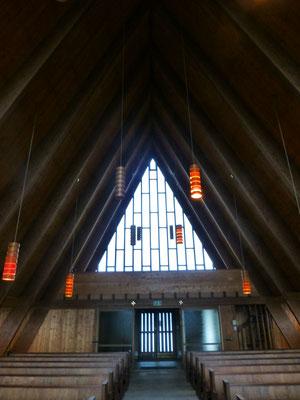Die katholische Kirche in Lillehammer