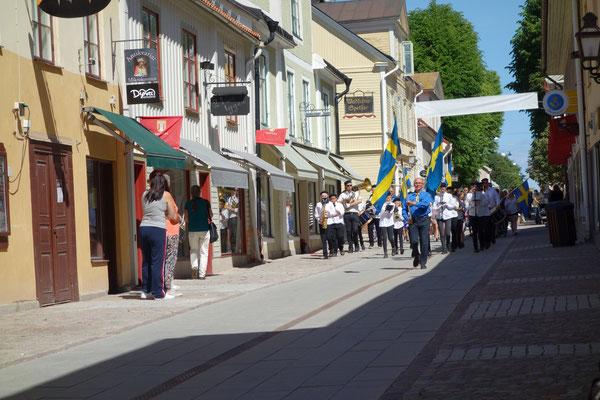Feier zum Nationalfeiertag am 6.Juni in Vadstena