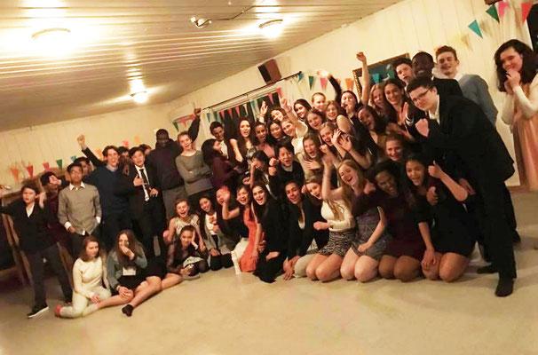 Die Teilnehmer des Ostercamps