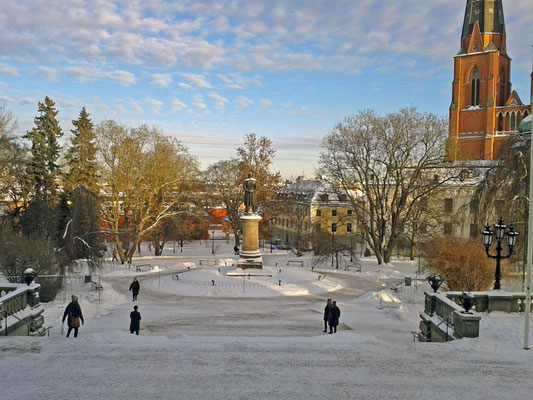 Blick vom Universitätsgebäude.