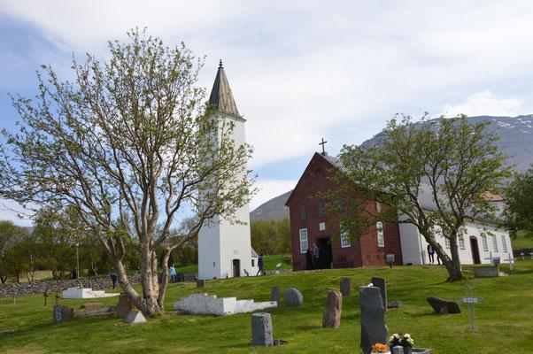 Die Domkirche in Holar. Bild: Elisabeth Käufer