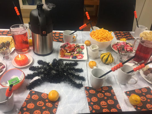Halloween bei der Caritas