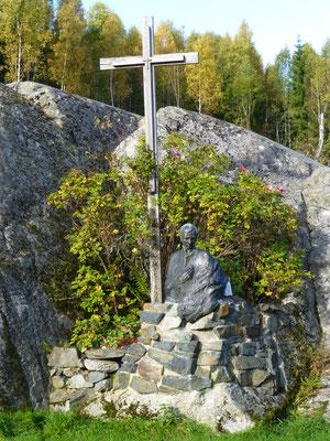 Kreuz auf dem Freizeitgelände Mariaholm