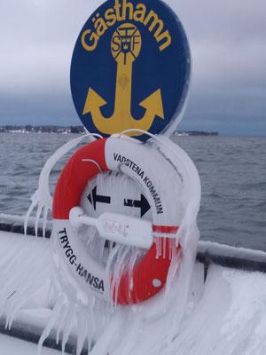 Am Hafen von Vadstena