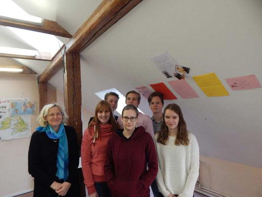 Deutschunterricht in der 9a in Tartu
